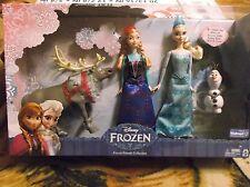 Disney's Frozen-Frozen Friends Collection.  Anna, Elsa, Olaf, Sven.  Walmart Ex.