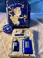 Vintage Evening In Paris Perfume And Talcum Set
