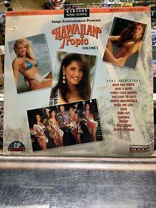 Karaoke Sing-Along Hawaiian Tropic Volume 1 Laserdisc Bikini Beach Babes