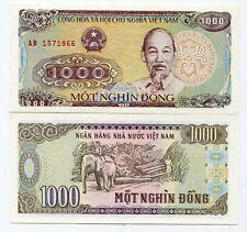 Billete de 1000 dongs de Vietnam