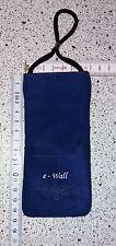 Strahlenschutz HANDYTASCHE für iPhone eWall classic blau Art. 01.300 NEU OVP  µ