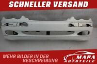 Mercedes C-Klasse W203 Bj. 2000-2004 Stoßstange Vorne Original weiß (R8225)