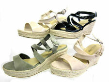 Spot On Strappy Synthetic Casual Shoes for Women