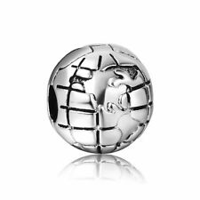 Silver Charms Bead Stopper fit European Bracelet hallmarked clip clasp 7 PSB352