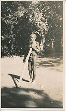 NOUVELLE CALEDONIE c. 1930 - Indigène Ph. Ventrillon Nouméa - PP 124
