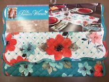 The Pioneer Woman Vintage Bloom Reversible Quilted Table Runner