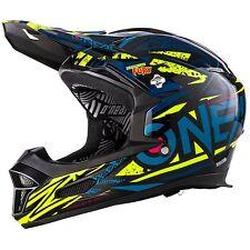 O'Neal Fury Rl Synthy Bleu/Hi-Viz XL (61/62cm)Casque de Vélo Facial Downhill