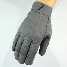 Tactical Assault Combat Gloves - SMALL - GREY - Lightweight Breathable Material