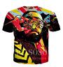 Fashion Randy Savage Funny 3D Print Casual T-Shirt Women Men Short Sleeve Tops