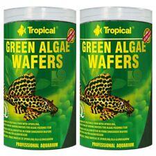 2 X Tropical Green Algae Wafers 1000 ML Catfish Chips Pleco