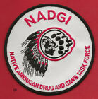 Внешний вид - NADGI NATIVE AMERICAN DRUG AND GANG TASK FORCE WISCONSIN SHOULDER PATCH