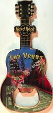 Hard Rock Cafe LAS VEGAS 2012 Guitar MAGNET Bottle Opener V8 City Casino Icons