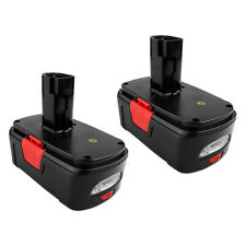 2 x 19.2V Battery for Craftsman 130279005 315.115410 Cordless Drill Driver