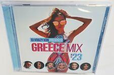 DJ KRAZY KON GREECE MIX VOLUME 23 (2019) BRAND NEW SEALED CD GREEK MIX