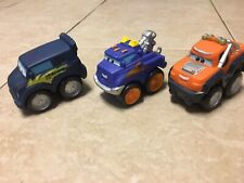 Disney/ Pixar Cars 2 2010 Hasbro Lot of 3 Rubber Cars
