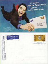 1999 ITALIA REPUBBLICA CARTOLINA POSTALE PRIORITARIO OMAGGIO POSTE C241 (B4)