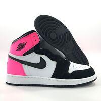 Nike Air Jordan 1 Retro High GG Valentines Day White Pink Black 881426-009 7Y