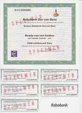 Rabo Bank SAS Van Ghent, Specimen Euro