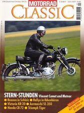 MC9405 + VINCENT Comet und Meteor + DKW Sport 350 + MOTORRAD CLASSIC 5 1994