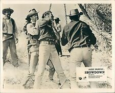 SHOWDOWN AUDIE MURPHY WESTERN LYNCH MOB  LOBBY CARD
