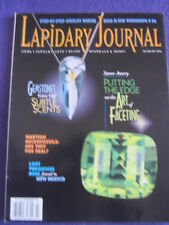 LAPIDARY JOURNAL - FACETING - March 1998 v 51 # 12