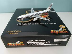 Avianca Boeing B 757 N321LF - 80th Anniversary