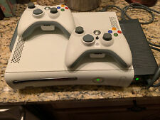 New listing Xbox 360 Console with Wireless Controller White with 60Gb Hdd Add On