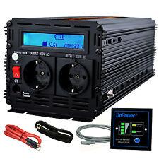 Power Inverter 3000W 6000W 12V to 220V 230V LCD Display Convertitore Invertitori