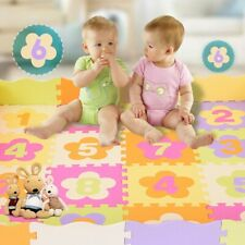 36Pcs Baby Kids Room Number Foam Crawl Playing Floor Mat Jigsaw Puzzle Pad Toy