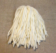 100 Wool Strips for Primitive Rug Hooking size #6 Creamy Winter White