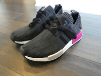 Adidas Women's NMD_R1 Boost shoes sneakers new BB2364 black PK Primeknit