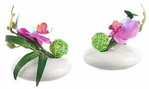 Kunstpflanze »LED-Orchidee« Orchidee, I.GE.A., Höhe 12 cm