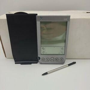 Palm Handspring Visor Portable vintage 1990s PDA Organizer Palm OS w/ stylus