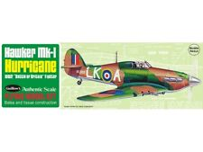 MK 1 Hurricane 419mm Wingspan Flying Model Balsa Aircraft Kit from Guillow's