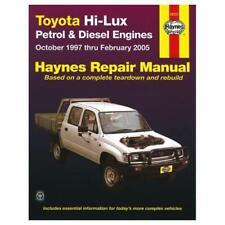 Workshop Repair Manual suitable for Hilux 1997-2005 Petrol and Diesel 92737