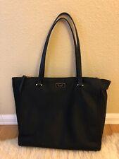 "Kate Spade Large Black ""Dawn"" Nylon Tote Bag"
