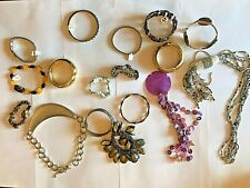 Vintage to Modern Estate Jewelry Mixed Lot 2, Costume Bracelets over 1 lb