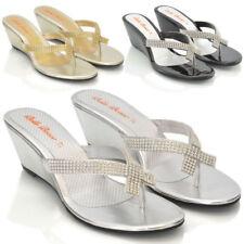 Evening & Party Flip Flops Rubber Sandals for Women