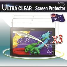 "3x Ultra Clear Screen Protector Film For Lenovo Tab 3 10.0"" inch Business"