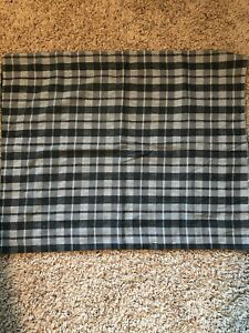 Vintage Standard Size Pillow Sham Plaid Martha Stewart