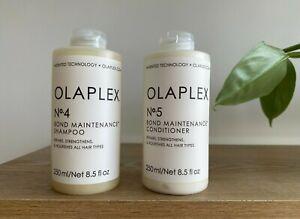Olaplex Bond Maintenance No.4 Shampoo & No.5 Conditioner 250ml 2 Pack - No 4 / 5
