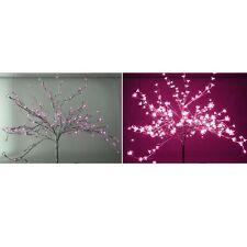 LED-Baum silber 200 pinke LEDs H 150 cm outdoor-indoor Lichterbaum Lichterzweig