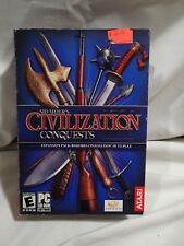Sid Meier's Civilization III 3 Expansion Conquests (PC) Complete boxed copy HTF
