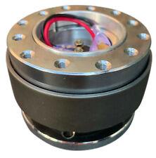 Aftermarket Steering Wheel Boss Kit Quick Release Mechanism - CHROME TITANIUM