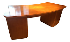 Ethan Allen Radius Desk Modern Contemporary Mid Century Danish Design