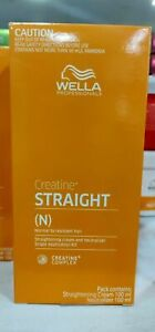Wella Professionals Straight (N) Hair Straightening Cream Normal to Resistant