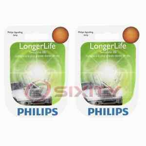 2 pc Philips Front Side Marker Light Bulbs for Audi 5000 A3 A3 Quattro A4 A4 fz