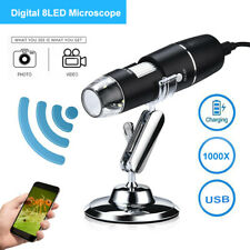 Wifi Microscope Magnifier 1000x Video Usb Endoscope With Stand For Androidios