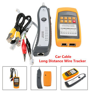 Car Cable Long Distance Wire Tracker Short Open Circuit Finder Tester LEDDisplay