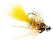 Fly Fishing Flies (Bream, Catfish, Trout, Carp, Bonefish) Carp Bugger Yellow (6)